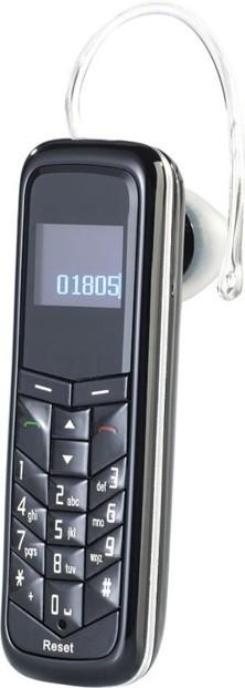 mini telephone oreillette avec bluetooth et double sim shx-670.duo simvalley