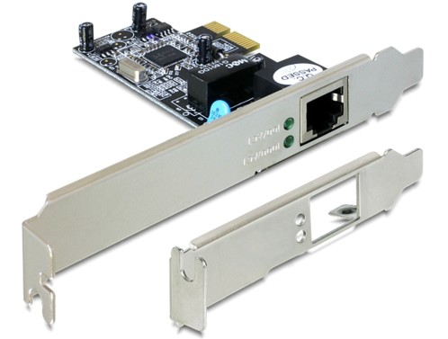 Carte PCI Express réseau Gigabit LAN DeLock
