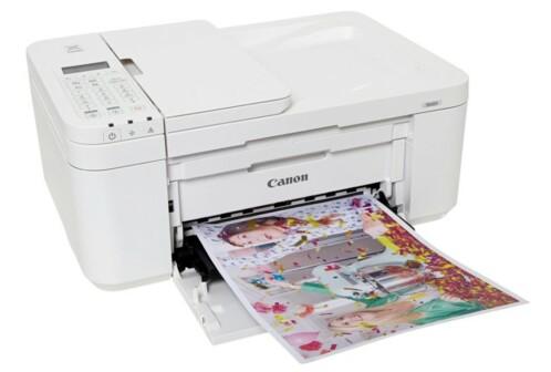 Imprimante multifonction Canon Pixma TR4551 blanche.