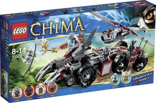 Le grand Wolfstruck de Worriz 70009 par LEGO Chima.