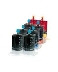 Kit de recharge compatible HP pour cartouches d'imprimantes, CMJN