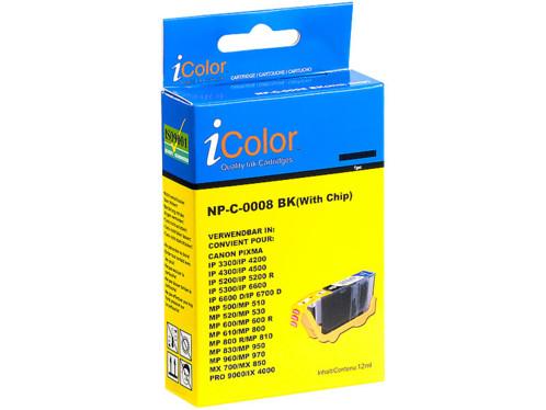 Cartouche compatible Canon CLI-8BK - Noir
