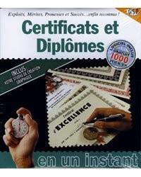 Certificats et diplômes