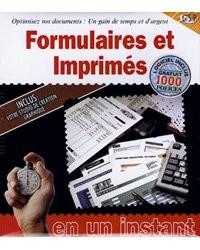 Formulaires et imprimés
