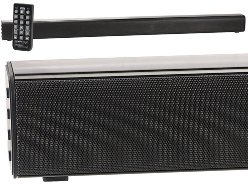 barre de son 60w avec entrées pc tv lecteur blu ray coaxial cinch aux et bluetooth 4.0 msx-430 auvisio
