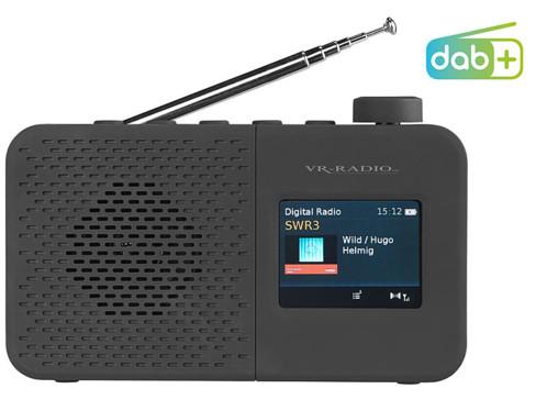 Radio numérique nomade DAB+/ FM avec haut-parleur 2 W, alarme et écran couleur DOR-280