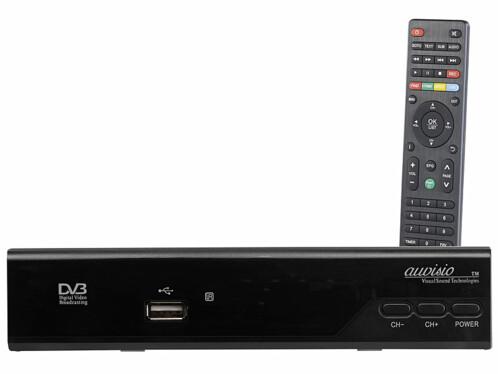Récepteur SAT HD DVB-S/S2 avec lecteur multimédia intégré DSR-460