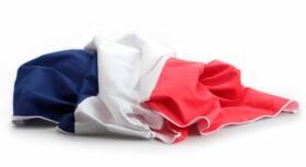 serviette de bain en microfibre drapeau de la france bleu blanc rouge