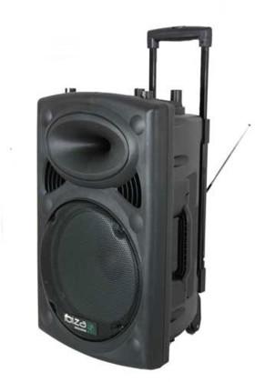 Sono portable + 2 micros Ibiza Sound 800W