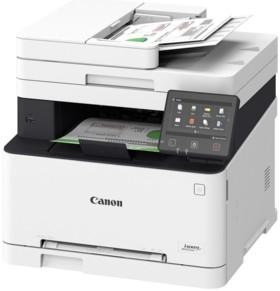imprimante laser couleur de bureau avec scanner canon mf633cdw blanche