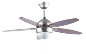 """Ventilateur de plafond avec plafonnier """"VT-597"""" - Ø 92 cm - Avec télécommande"""