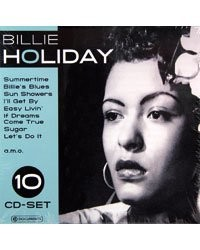10 CD ''Billie Holiday''