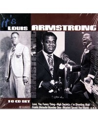 10 CD ''Louis Armstrong''