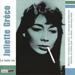 CD ''Juliette Gréco'' - La Belle Vie
