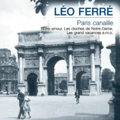 CD ''Léo Ferré'' - Paris Canaille