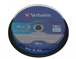 Blu Ray DL Type LTH - 50 Go (x10)
