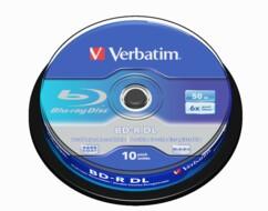Blu Ray DL Type LTH - 50 Go (x10)