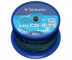 CD-R Verbatim AZO (x50)