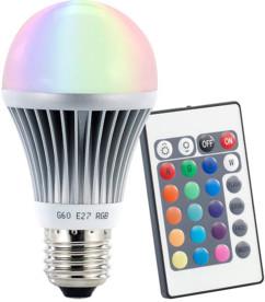 Ampoule LED RVB E27 3 W télécommandée