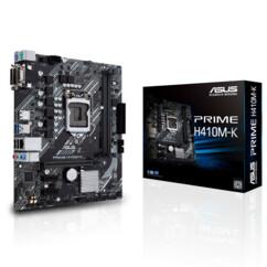 Carte mère Asus Prime H410M-K.