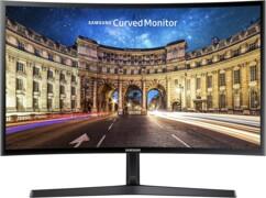 """Moniteur PC Samsung LC27F396FHRXEN avec écran incurvé 27""""."""