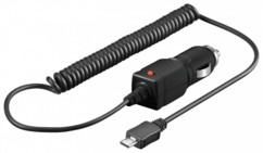 Chargeur allume-cigare 12/24 V vers Micro-USB