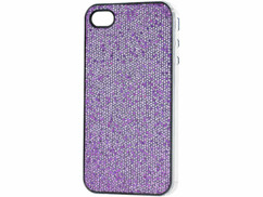 Coque de protection glamour pour iPhone Lilas chic