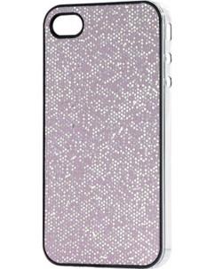 Coque de protection glamour pour iPhone rose nacré
