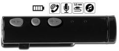 recepteur bluetooth jack pour casque audio avec micro pour fonction lit mains libres callstel