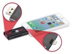 Adaptateur de stockage pour iPhone & iPad (iOS), certifié Apple