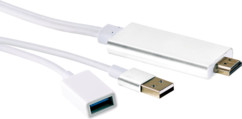 Adaptateur HDMI pour iPhone & iPad