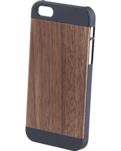 Coque de protection en bois pour iPhone 5 / 5S / SE