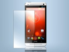 Façade de protection en verre trempé pour HTC One M7