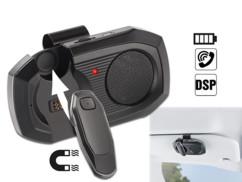 kit mains libres sans fil autorisé en voiture avec haut parleur ou oreillette avec micro Callstel