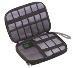 """Pochette de transport avec compartiment rembourré pour tablette jusqu'à 8"""""""