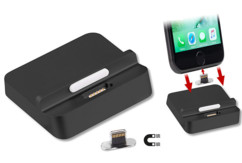 docking station pour iphone avec dongle lightning magnétique Callstel