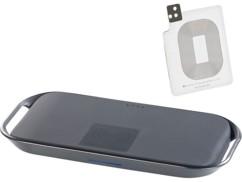 Station compatible Qi avec batterie 6000 mAh et adaptateur Galaxy S5