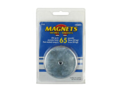 Aimant diamètre 67 mm - pour charge jusqu'à 29 Kg