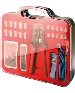 Coffret d'outils réseau - 25 pièces