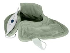 coussin doux chauffant enveloppant pour nuque cervicales epaules douloureux hydas