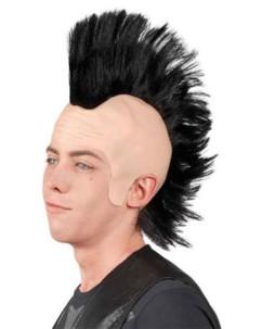 Perruque de deguisement Punk Crete
