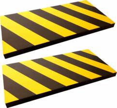 2 Mousses de protection 50 X 25 cm - épaisseur 2,5 cm