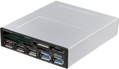 Akasa Façade multifonction 3,5'' USB 2.0 / 3.0
