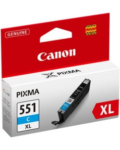 Cartouche originale Canon CLI-551 XL - Cyan