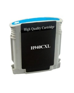 Cartouche remanufacturee HP ''C4907AE'' N°940XL cyan