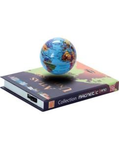 Globe flottant ''Atlas universel 3D''