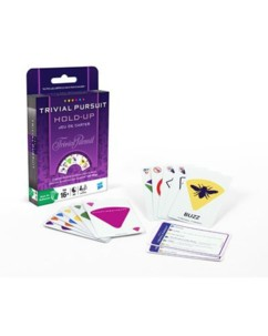 Jeu de cartes ''Trivial Pursuit'' Hold-Up