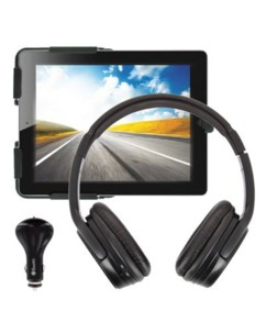 Pack support iPad Appui-Tete + casque Bluetooth