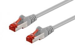 Câble réseau RJ45 Cat. 6 S/FTP Gris - 5 m