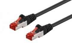 Câble réseau RJ45 Cat. 6 S/FTP Noir - 5m